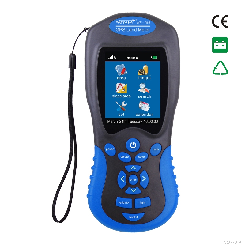 Noyafa GPS Land Meter Test Device NF-188 Survey Equipment Use Farm Land Surveying Mapping Area Length Outdoor Measuring Tool