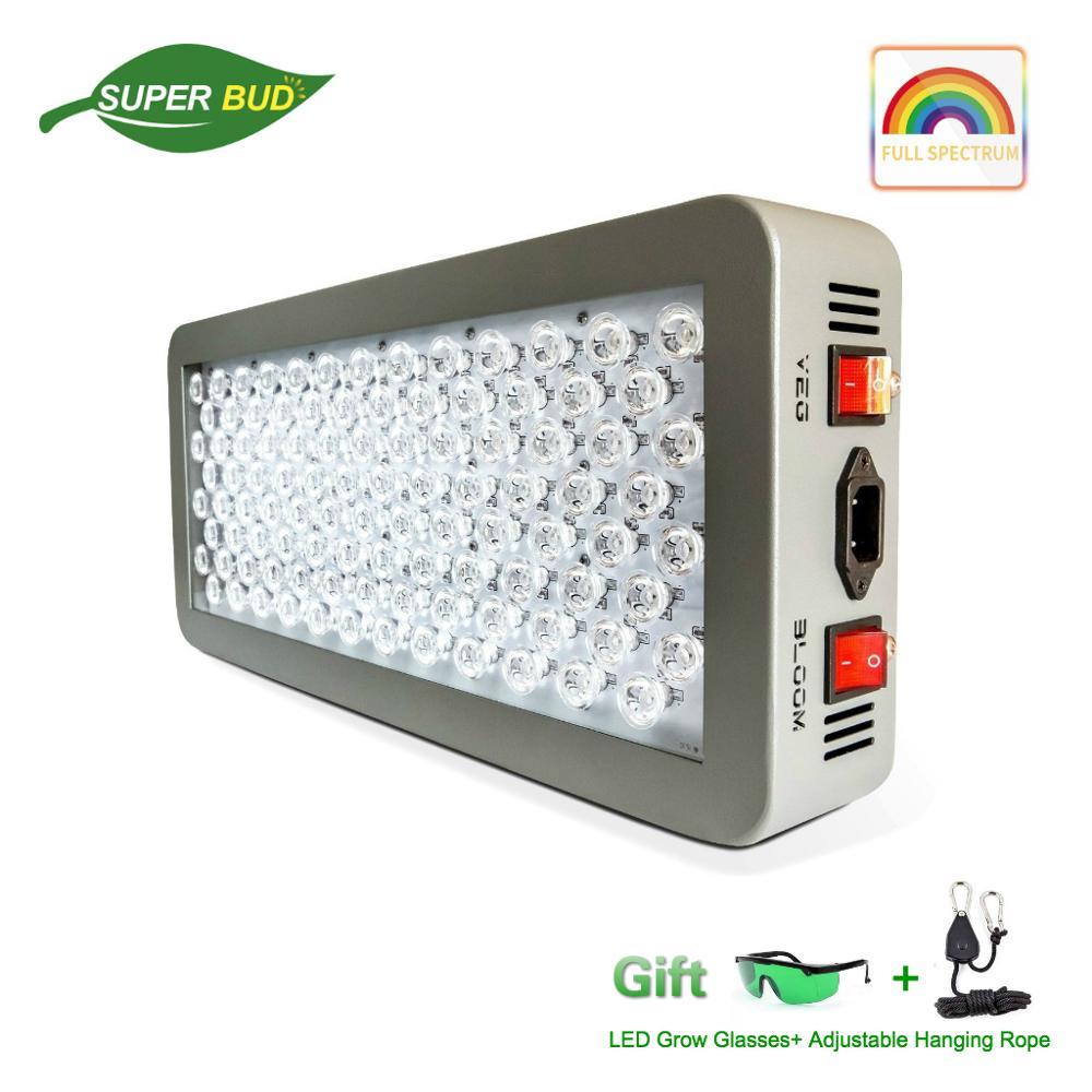 Original P300 P600 P900 P1200 LED à spectre complet lumière de croissance 300W 600W 900W 12-bande hydroponique serre poussent des plantes d'intérieur de tente