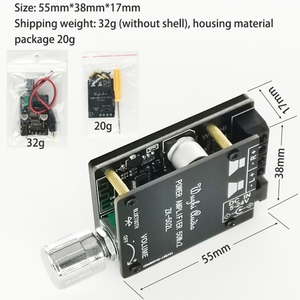 Image 4 - Bluetooth 5.0 Wireless Audio Digital Power Amplifier Stereo Board 50Wx2 Bluetooth Amp Amplificador ZK 502L