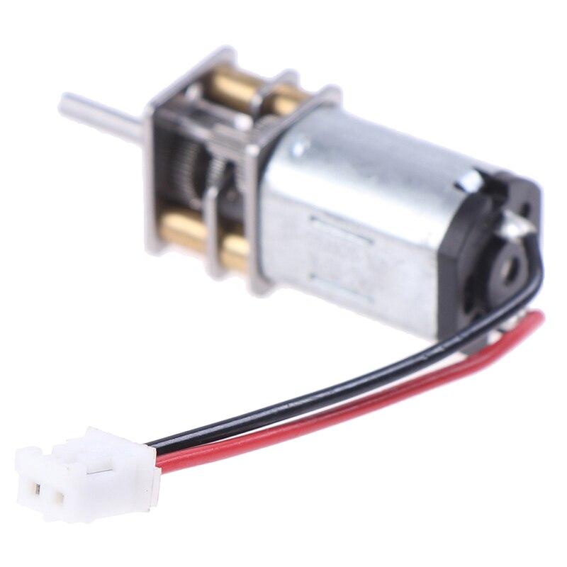 DC Motor N20 Große Drehmoment Motor Getriebe Motor mit XH2.54-2P Kabel für Smart Auto DIY
