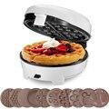 7 кастрюли Многофункциональный вафельница/аппарат для приготовления пончиков/Кухня Вафля в форме сердца чайник/торт поп-машина Non-плавающа...