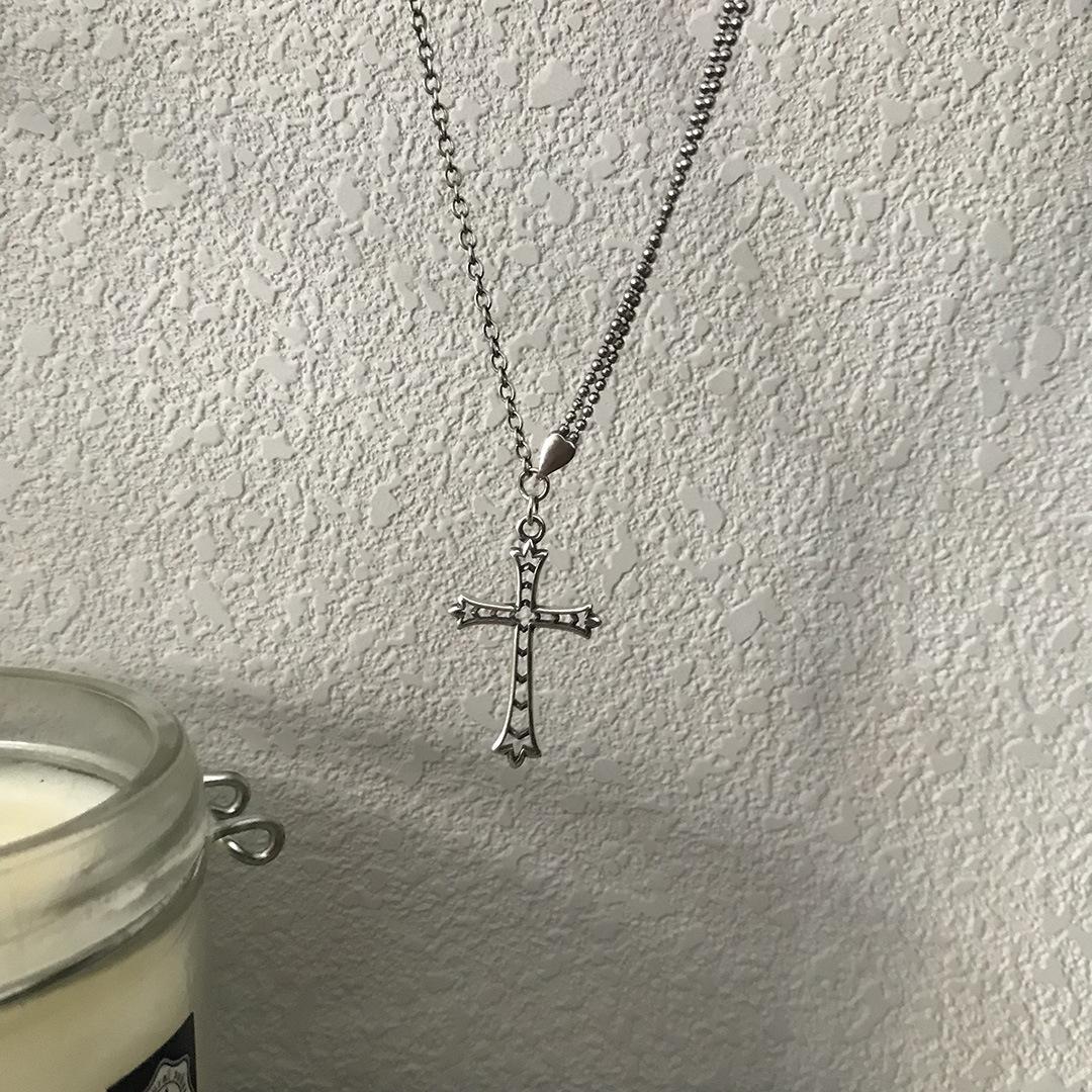 Женское винтажное ожерелье из серебра 925 пробы с подвеской