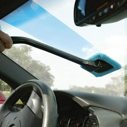 limpador de para brisa plastico microfiber auto limpador de janela longo lidar com escovas esponjas