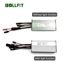 BOLLFIT Ebike Controller48v 30A duży wodoodporny 12 Mosfets KT Kunteng 750W 1000W napęd elektryczny do roweru akcesoria światło