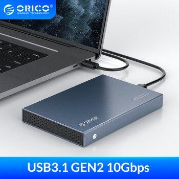 ORICO HDD Caso 2.5 pollici SATA a USB 3.1 Tipo C Gen 2 di Caso per Samsung Seagate SSD DA 4TB hard Disk Drive Box Esterno HDD Enclosure