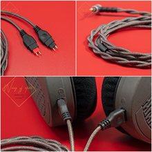 Sennheiser – câble Audio symétrique hi-fi, pour casque d'écoute HD650, HD600, HD580, HD545, HD535, 4Ft, 4.4mm, 2.5mm, prises d'équilibre, 3.5mm, stéréo