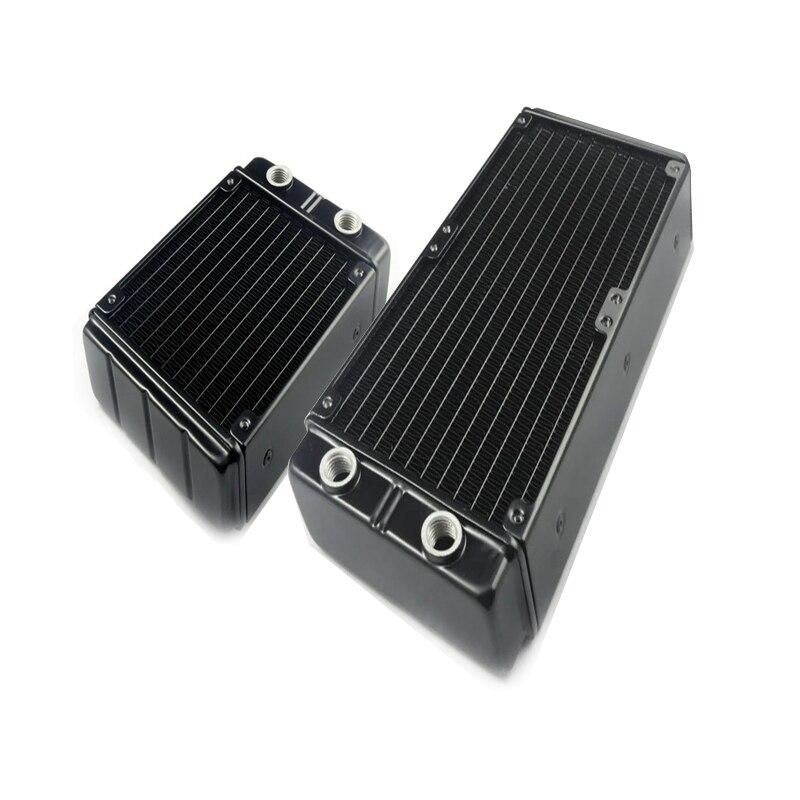 Радиатор для водяного охлаждения G1/4 120 мм 240 мм, радиатор 45 мм, толщина для вентиляторов 120 мм