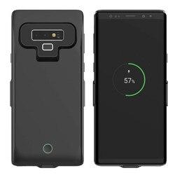 7000mAh Ultra Fino de Energia Móvel de Carregamento Da Bateria Caso de Volta Para Samsung Nota 8 10 Pro Plus Para Samsung Nota 9 10 bateria Caso