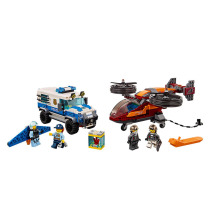 New City Series Toys Sky Police Diamond Heist Compatible City 60209 Building Blocks Bricks For Children Christmas Gift bevle gudi 9316 city police series mobile police station model building blocks bricks model bricks gift for children city toys
