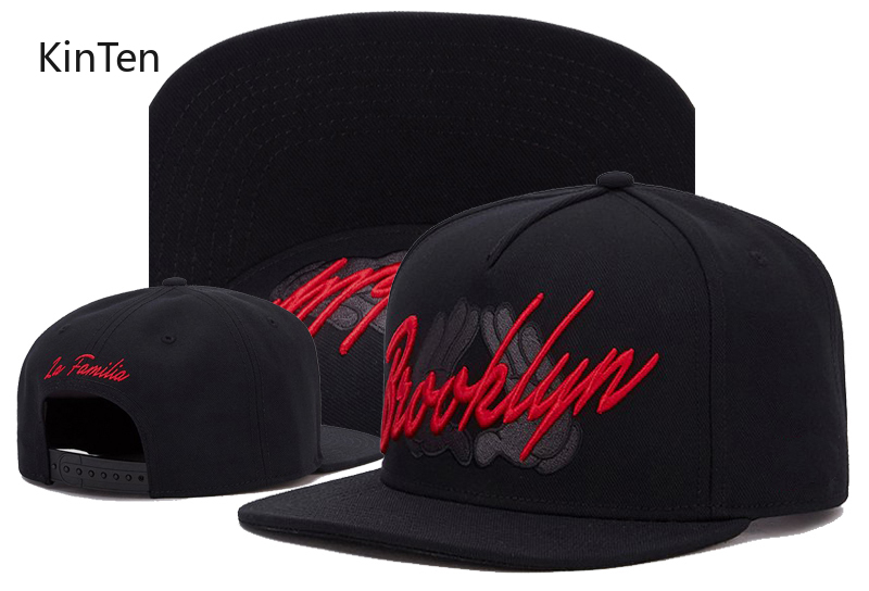 2020 New Brooklyn Black And Red Snap Back Cap Street Hip Hop Baseball  Men  Women High Quality Wholesale Free Shipping