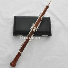 Профессиональная Роза деревянный корпус гобое посеребренный C Ключ с защитной оболочкой