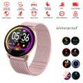 Часы с Bluetooth для телефона  напоминания о звонках  отображение сообщений  монитор сердечного ритма  фитнес-трекер  водонепроницаемые Смарт-ча...