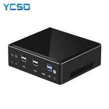 Mini PC Intel Core i7 7500U 8650U Computer Windows 10 2*DDR4 M.2 SSD 8*USB DP Type-C 2*LAN WiFi 4K HTPC Micro Desktop NUC Minipc