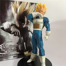 Dragon Ball Z végéta eveil Super Saiyan debout Ver. Malles père Gogeta VS Goku figurine PVC DBZ Collection modèle 18cm(China)