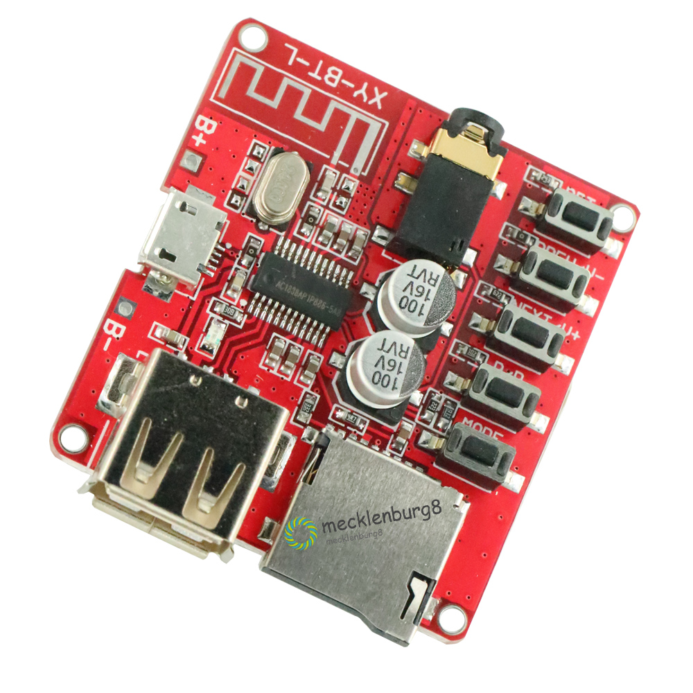 MP3 Bluetooth decoder board lossless car amplifier for loudspeaker board Modified Bluetooth 4 1 circuit stereo receiver module 5