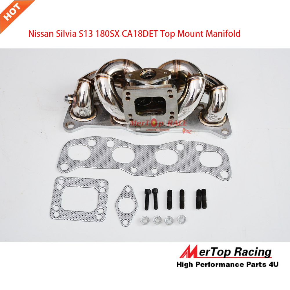MERTOP RACE Top Mount Manifold For  SILVIA S13 240SX GT3 CA18DET CA18