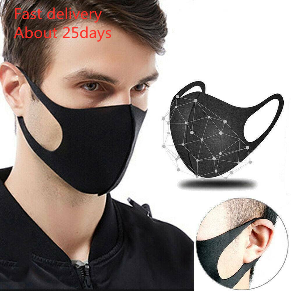 Mask Mascara 1/3/5/10x Anti-dust Mouth Face Mask Cycling Surgical Respirator Adult Reusable Masks