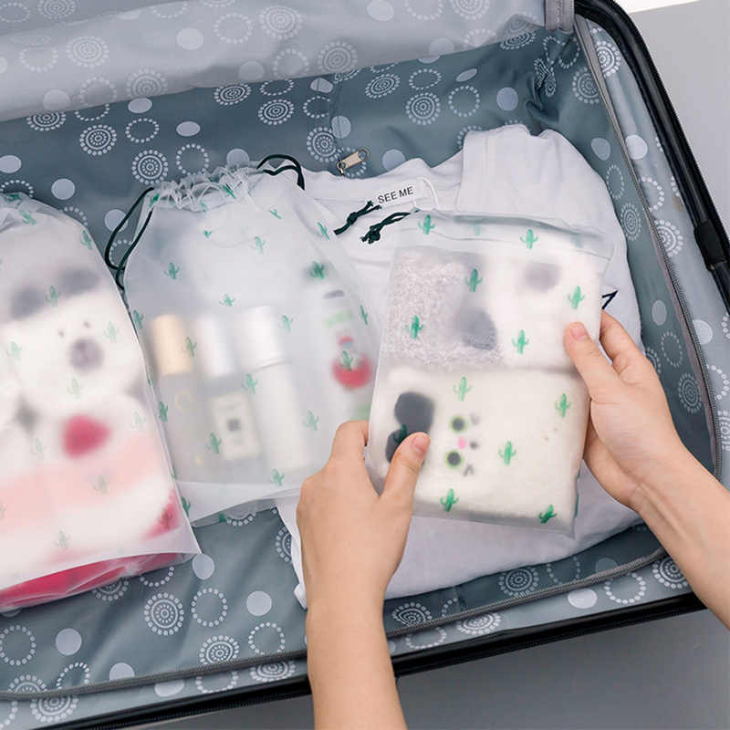 Practical Storage Bags Portable Travel Luggage Partition Bags Container for Clothes and Underwear Packaging Organizer Set 1 Pcs
