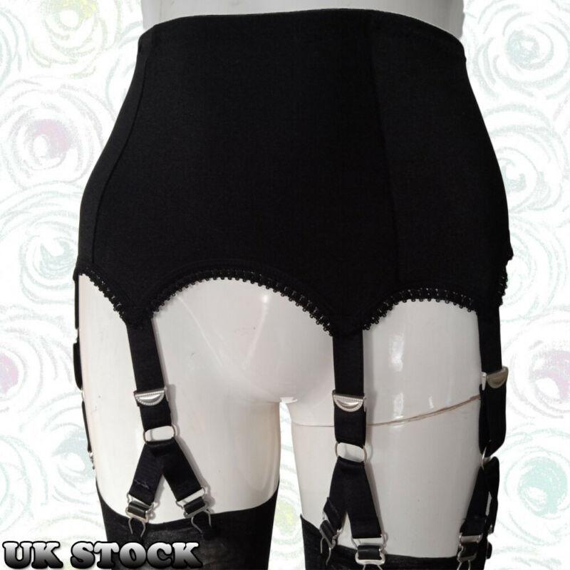 2020 Women Sexy Suspenders Retro Vintage Style 6 Straps 12 Claws Suspender Belt Lingerie Garter Belt Solid Accessories New Hot