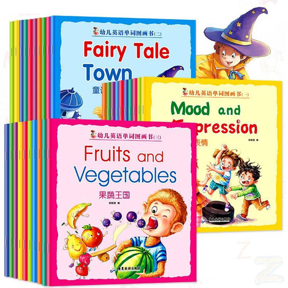Children's English Enlightenment Series Books 10 Books/set For 1+ Year Kids Learning Educational Paper Books