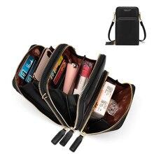 Красочный сотовый телефон сумка Мода ежедневного использования держатель для карт маленькая летняя сумка на плечо для женщин