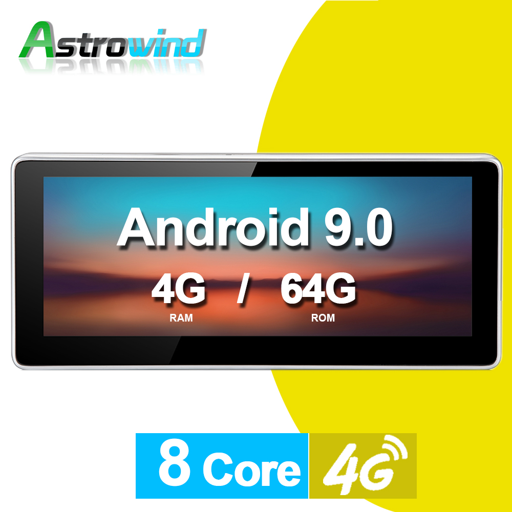 "<font><b>10.25</b></font>"" Android 9.0 Car GPS Navigation System Radio Player Media Stereo for <font><b>Audi</b></font> <font><b>A4</b></font> A5 Q5 S4 S5 2009-2015 image"