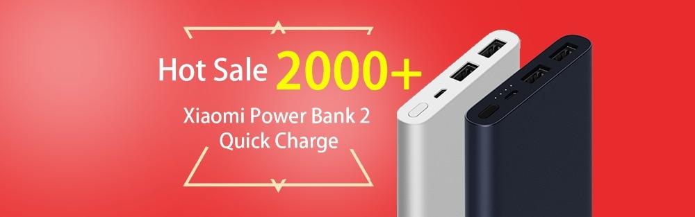 xiaomi power bank 2 quick charge 20000 mAh