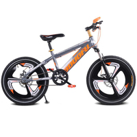 Children's bicycle 16/18/20 inch mountain student car Disc brake damping single speed children bicycle magnesium alloy one wheel