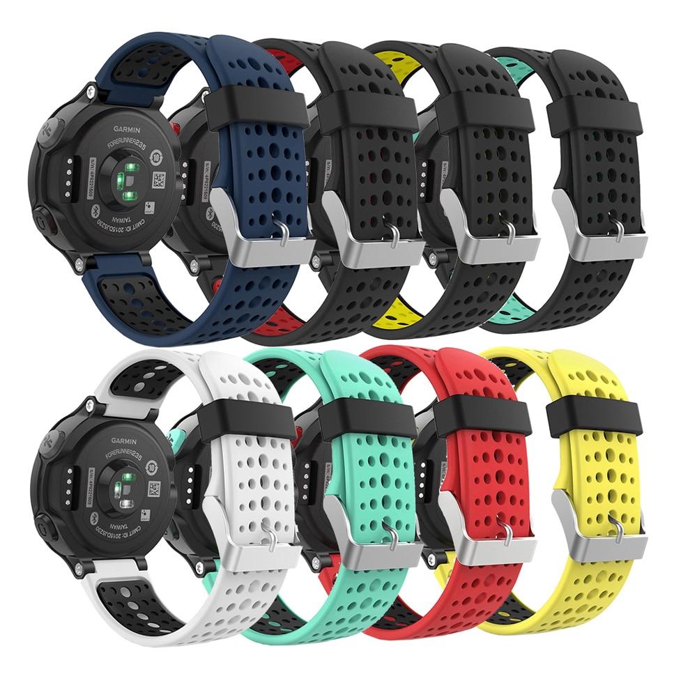 Forerunner 235 Watch Band Silicone Strap Bracelet Wriststrap For Garmin Forerunner 220/230/235/620/630/735XT/235Lite Accessories
