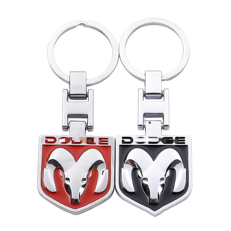 Dodge Nitro Black Steering Wheel Key Chain Keychain Fob
