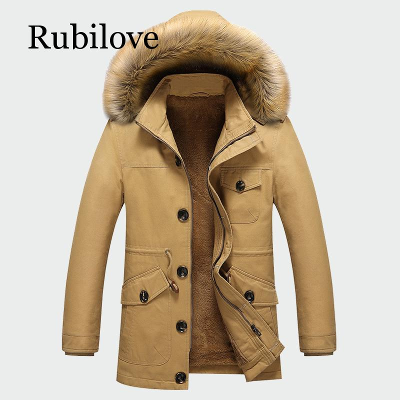 2020 Winter Men's Thick Coats Warm Male Jackets Padded Casual Hooded Parka New Men Overcoats Mens Brand Clothing