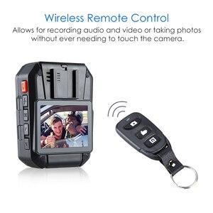 Image 3 - Boblov WA7 D 32 gb polícia câmera ambarella a7 4000 mah bateria mini comcorder dvr hd 1296 p corpo de controle remoto cam policia