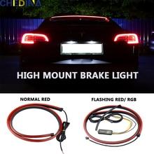 Auto Brake Light Self-adhesive Tailgate Light Bar LED Light Driving Turn Signal Light Truck Reversing Tail Light Signal Light