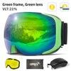 Green goggles set