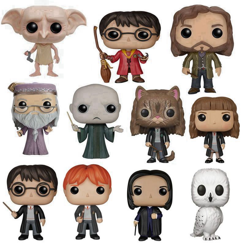 The Harry Dobby Hermione Ron Dumbledore Lord Snape Hedwig OWL LunaToy Magic Hat Hat