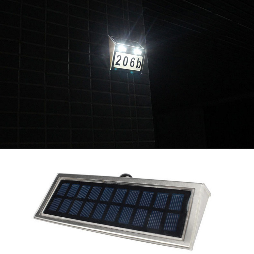 Luz solar movido a energia solar led