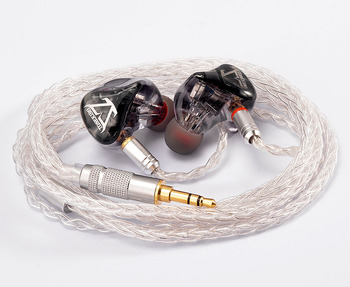 TONEKING T66S 6BA In Ear Earphone 6 Balanced Armature HIFI Music Monitor Headphone Earbuds With MMCX 8-Core Silver Plating Cable