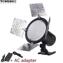 Yongnuo YN216 5500 K/3200 5500 K bi couleur LED éclairage de remplissage vidéo avec 4 filtres de couleur YN 216 pour DV DSLR appareil photo Canon Nikon