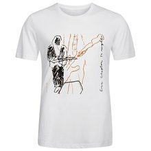 Eric clapton 24 noites camiseta de gola redonda dos homens da forma dos homens de manga curta camiseta t camisas