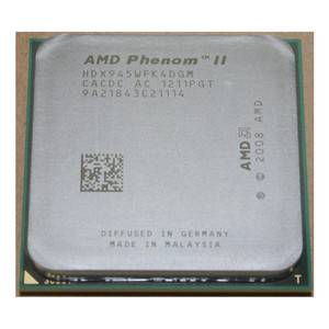 AMD Phenom II X4 945 Quad-Core CPU Processor Socket AM3 938pin 95W 3.0GHz HDX945WFK4DGM /HDX945WFK4DGI