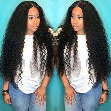 Derin dalga peruk şeffaf dantel peruk insan saçı dantel peruk 28 inç uzun T parça brezilyalı ıslak ve dalgalı kıvırcık insan saçı peruk