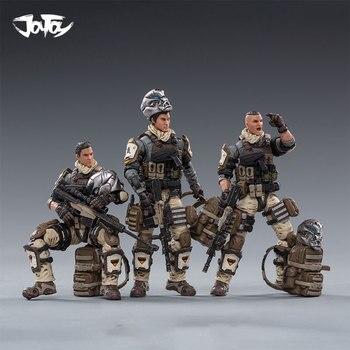 цена на 1/18 JOYTOY Action Figures HELL SKULL DESERT SKULL FIELD SQUAD Military Soldier Figure Model Toys Collection Toy