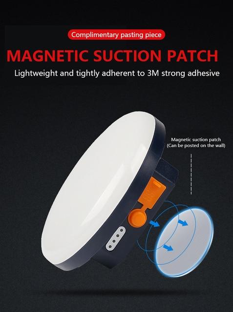 9900mAh LED Tent Light Rechargeable Lantern Portable Emergency Night Market Light Outdoor Camping Bulb Lamp Flashlight Home 3