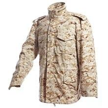 Тактическая Водонепроницаемая ветровка m65 куртки для походов