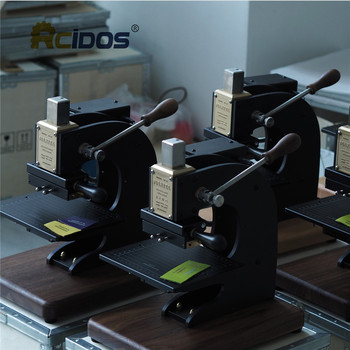 EC-27 RCIDOS Stamping Machine,leather bronzing/Creasing machine,hot foil stamping machine,leather embossor 1110V/220V