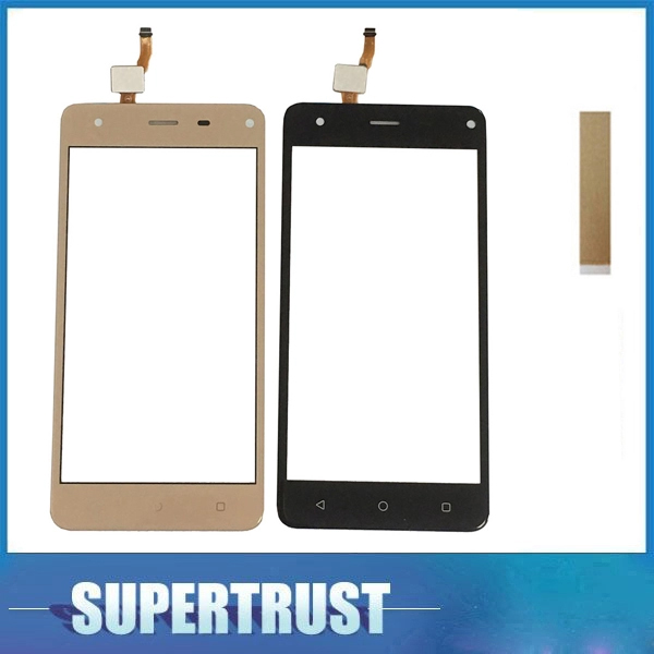 For Prestigio Grace P5 PSP5515DUO PSP5515 PSP 5515 Touch Screen Sensor Digitizer Front Glass Panel Black Gold With Sticker