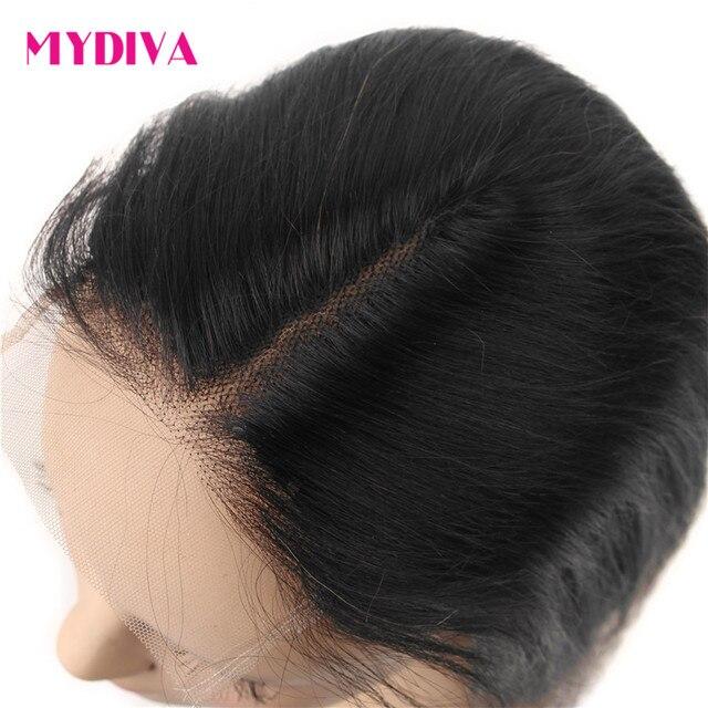 Pelucas de Bob corto lacio brasileño sin pegamento, cabello humano 4x4x1 T, malla con división para mujeres negras, densidad del 150%, peluca Remy de parte media 5