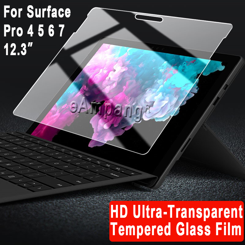 Tempered Glass for Microsoft Surface 3 Pro 3 Pro 4 Pro 5 6 7 Cover Screen Protective Film Scratchproof Tablet Screen Protector