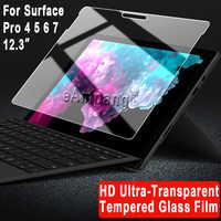 Verre trempé pour Microsoft Surface 3 Pro 3 Pro 4 Pro 5 6 7 couverture écran Film de protection tablette anti-rayures protecteur d'écran