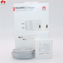 Huawei 40W מטען מקורי 10V4A מדחס האיחוד האירופי תשלום מתאם 5A USB סוג c כבל עבור נובה 5 5t 5 פרו mate 30 פרו p20 p30 פרו